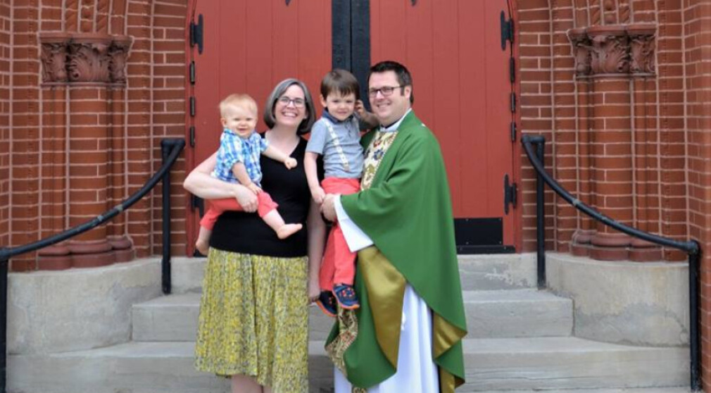 Grace Church Welcomes Their New Rector Ian Lasch