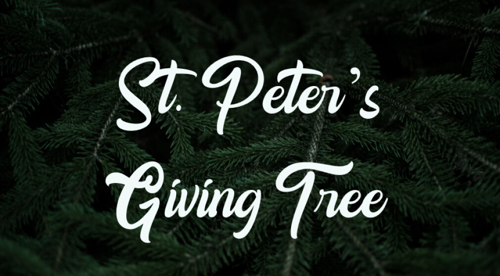 St. Peter's Giving Tree