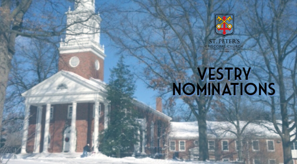 Vestry Nominations and Annual Meeting