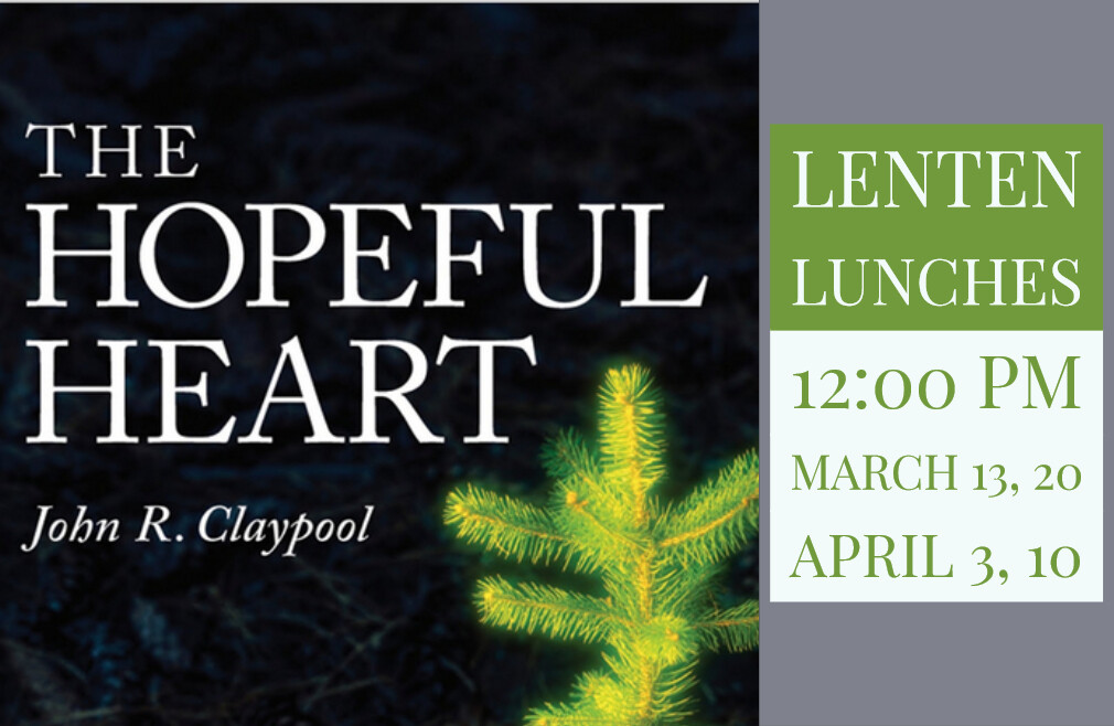 12:00 p.m. Lenten Lunch Series