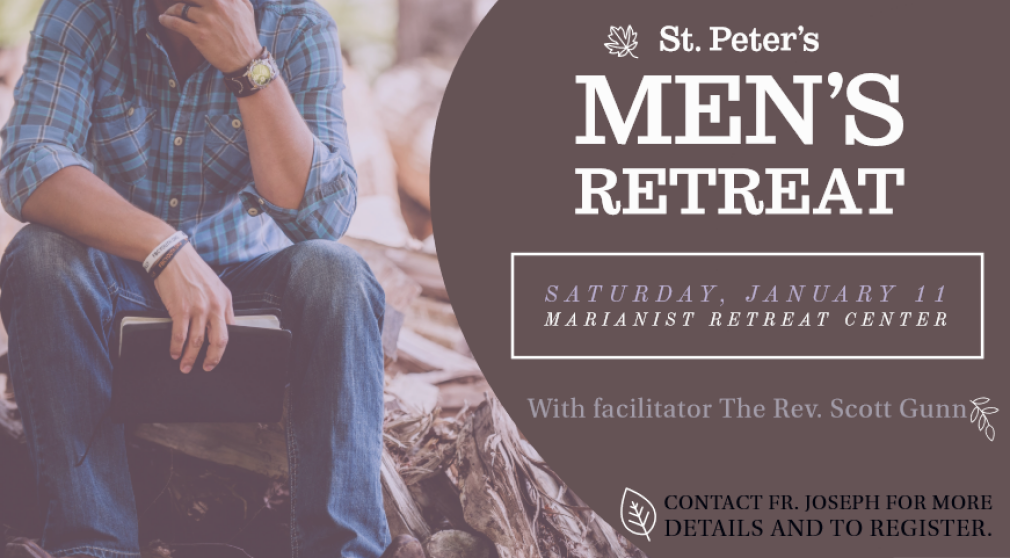 St. Peter's Men's Retreat