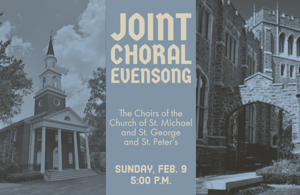 5:00 p.m. Choral Evensong