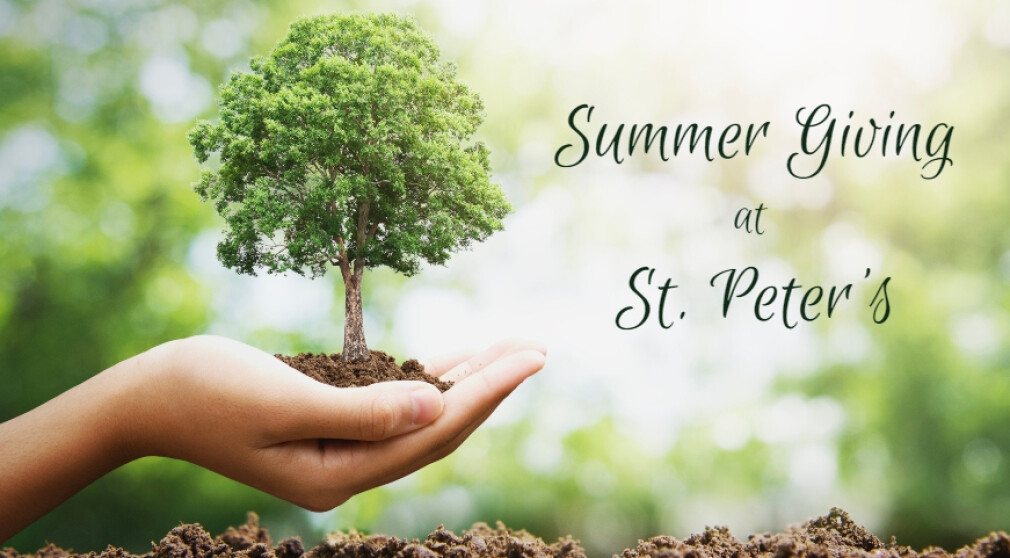 Financial Giving Through the Summer