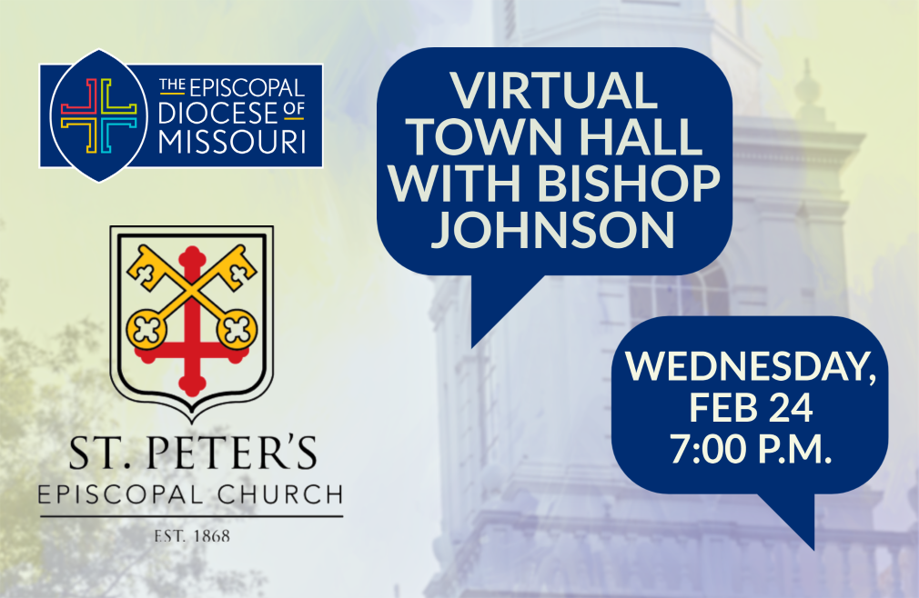 7:00 p.m. Virtual Town Hall with Bishop Deon