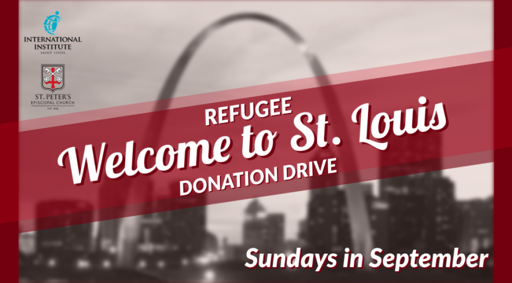 Refugee Welcome to St. Louis Donation Drive